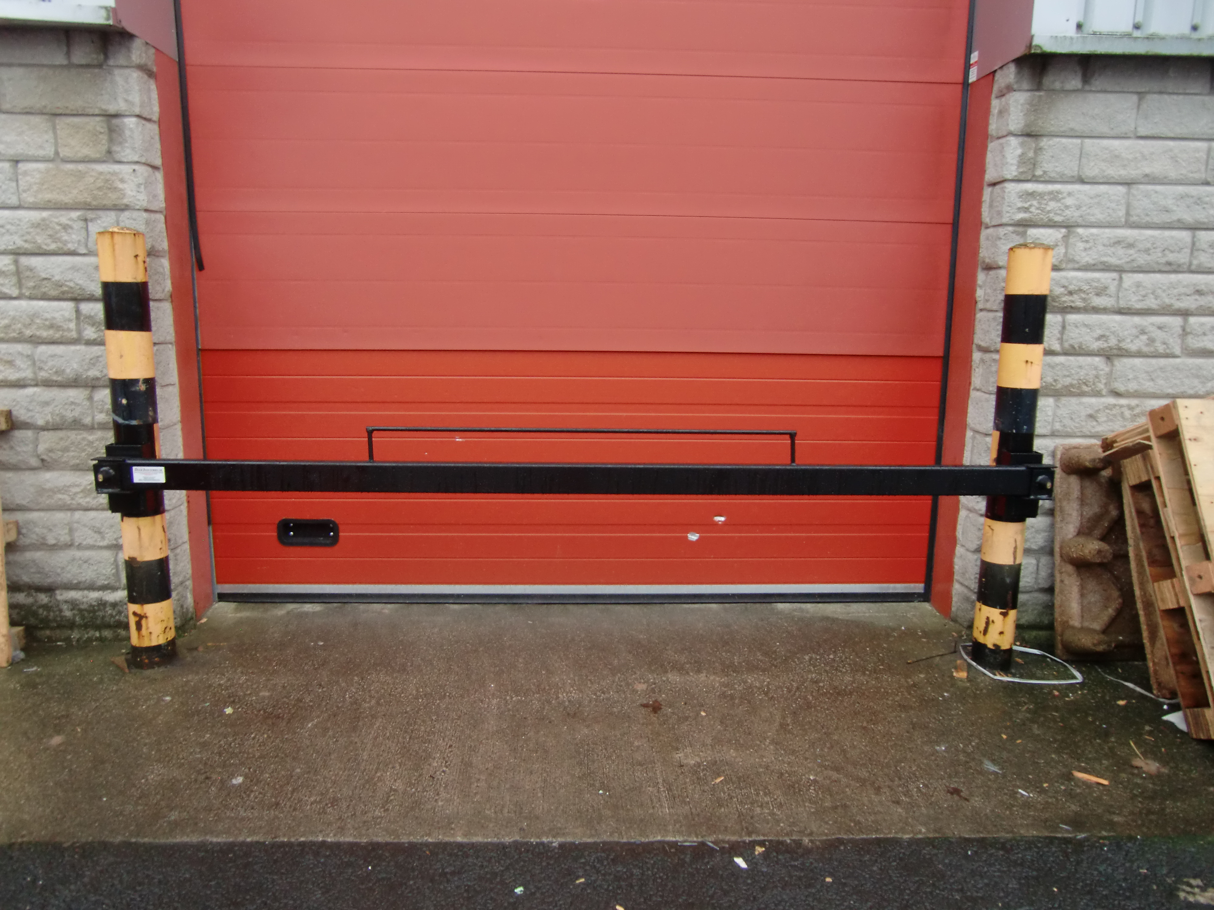 Bullet Locks are installed on Roller Shutter Door guides preventing the Roller Shutter being lifted when engaged. As well as a physical deterrent these ... & Door Security Products - Door Industries UKDoor Industries